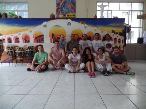 Capoeira Class at Leme.
