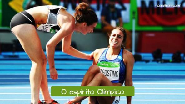Melhores Momentos dos Jogos Olímpicos: O Espírito Olímpico.