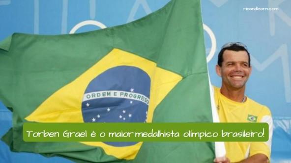 Torben Grael Olympic Medals. Torben Grael é o maior medalhista olímpico brasileiro!