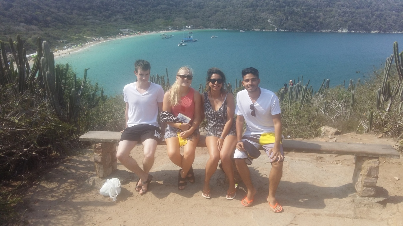 Beauties from Arraial do Cabo. Nice view of the Praia do Forno.