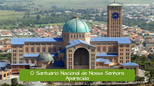 Santuario Nacional de la Patrona de Brasil en la ciudad de Aparecida en Brasil.