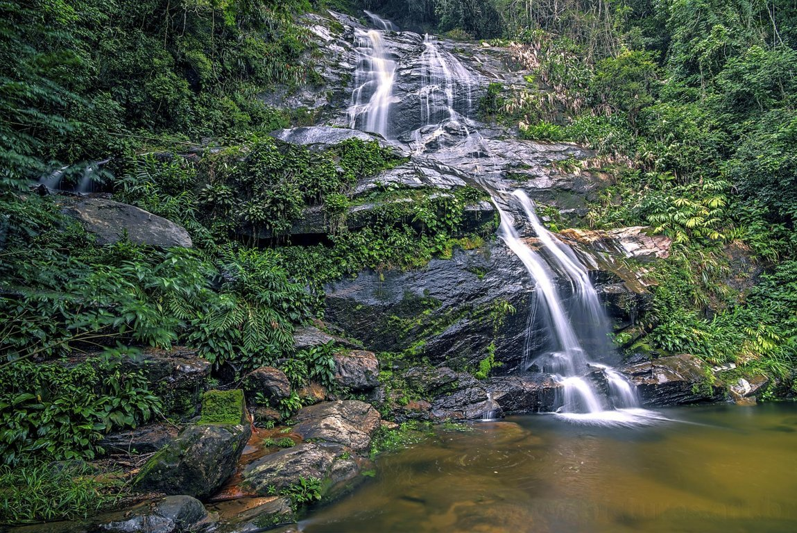 Floresta da Tijuca - Waterfall