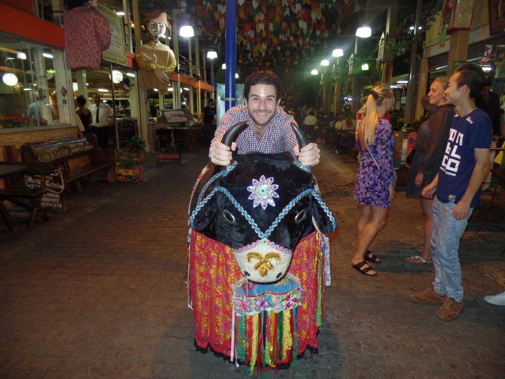 Fun at Feira de São Cristóvão.