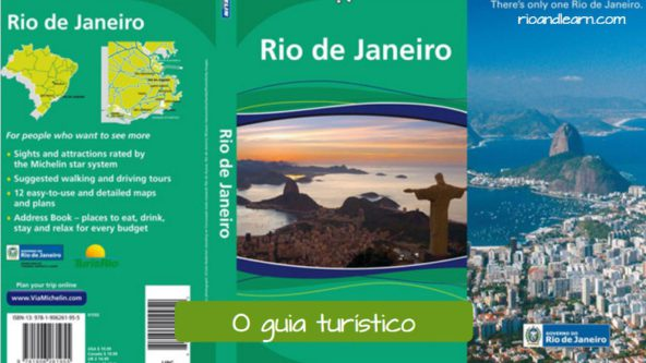 Travel Vocabulary in Portuguese. The guide book: O guia turístico.