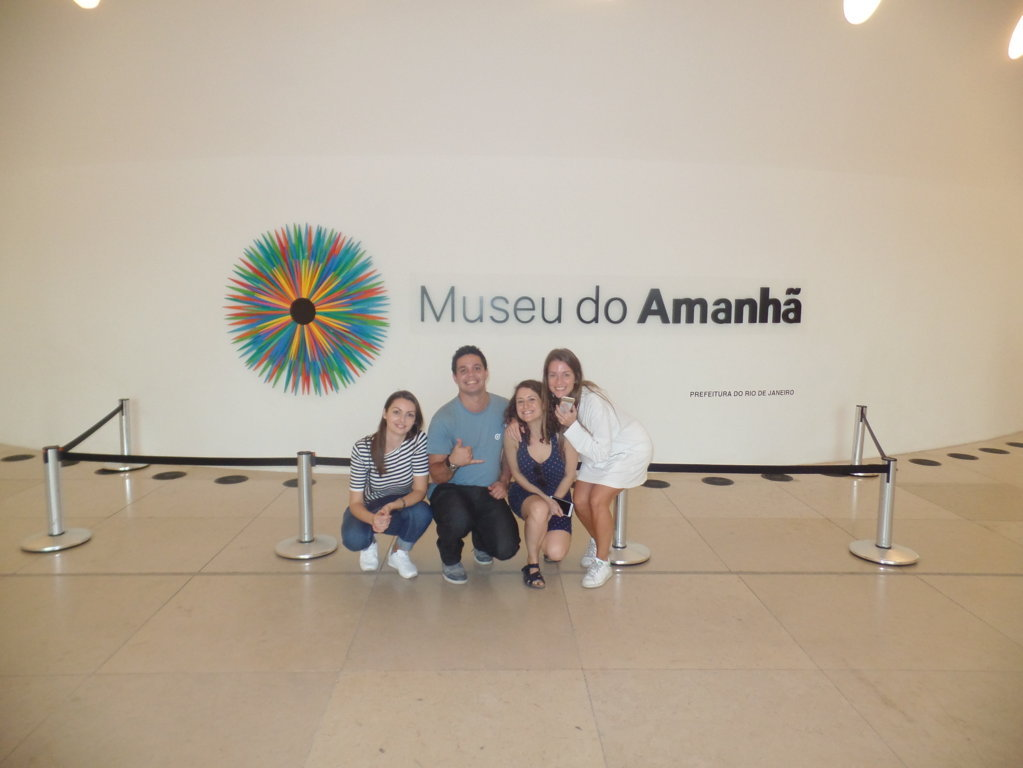 Visiting Museu do Amanhã.