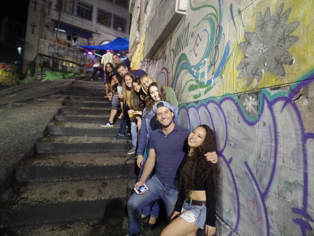 Fun and samba at Pedra do Sal.