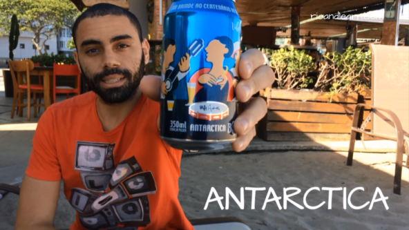 Cervezas más Populares en Brasil. La cerveza brasileña Antarctica