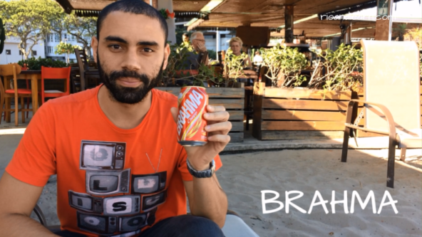 Popular Beers from Brazil. Brahma