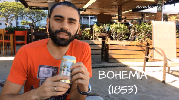Popular Beers from Brazil. Bohemia