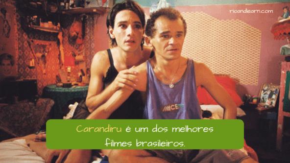 Carandiru é um dos melhores filmes brasileiros. mejores películas brasileñas.
