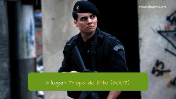 Cine brasileño mejores películas: Primer lugar - Tropa de Elite