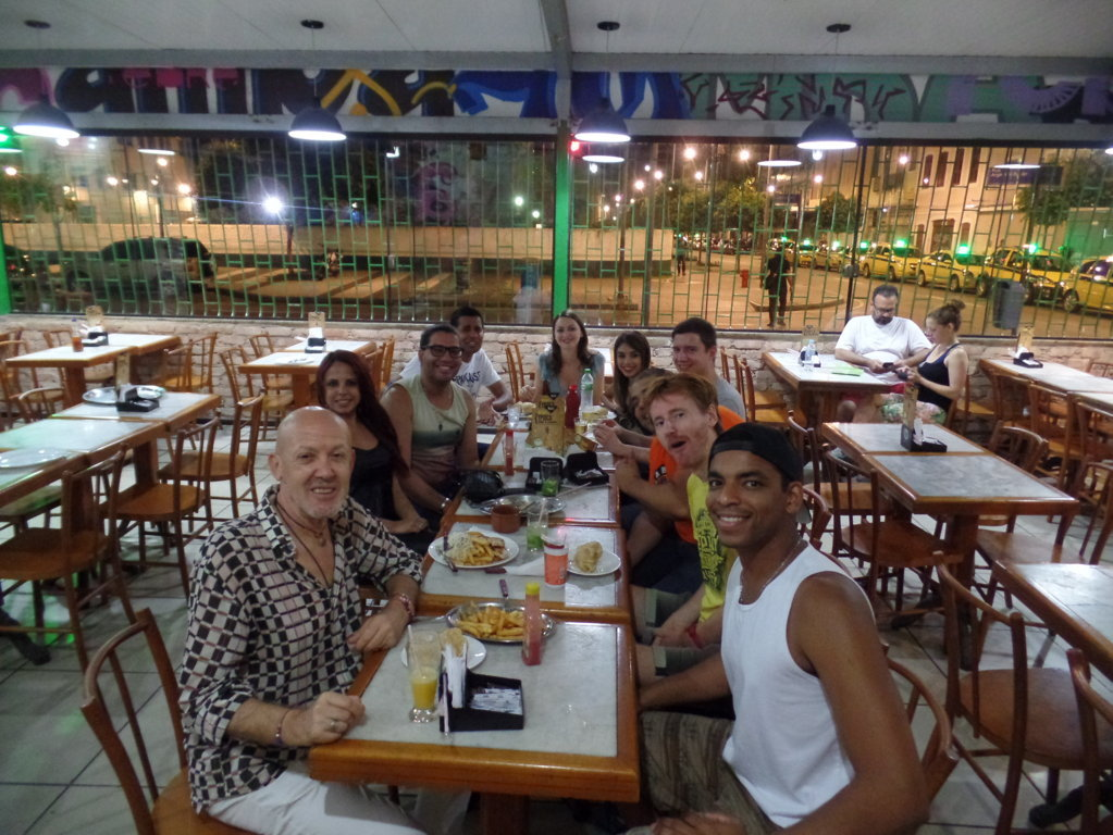 Christmas Eve at Pedra do Sal.