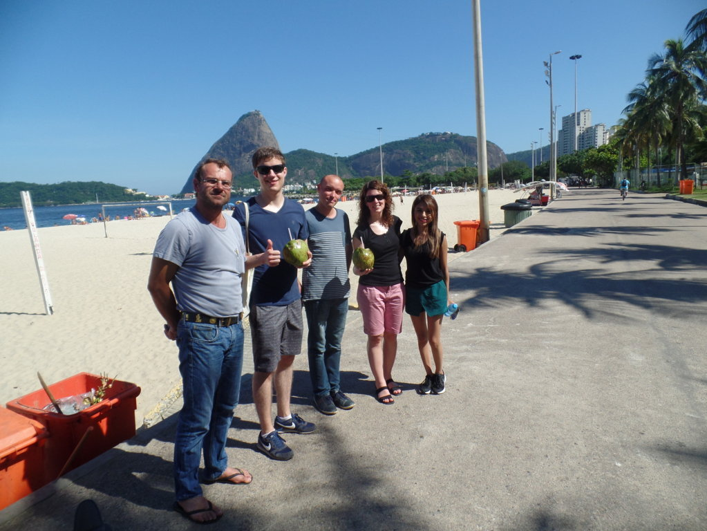 Sun in Botafogo.