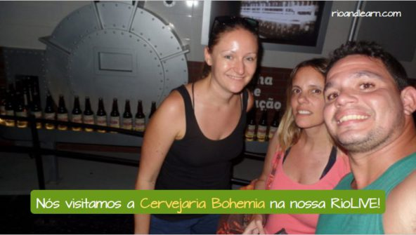 História da Cerveja no Brazil. Nós visitamos a Cervejaria Bohemia na nossa RioLIVE!