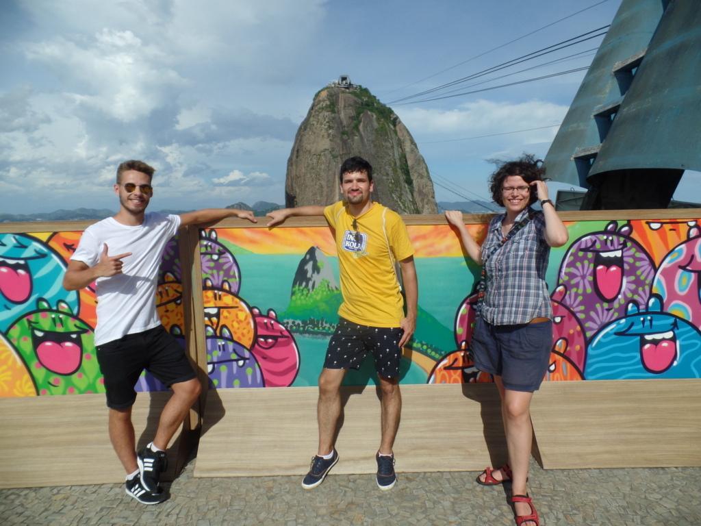Beautiful day in Rio de Janeiro.