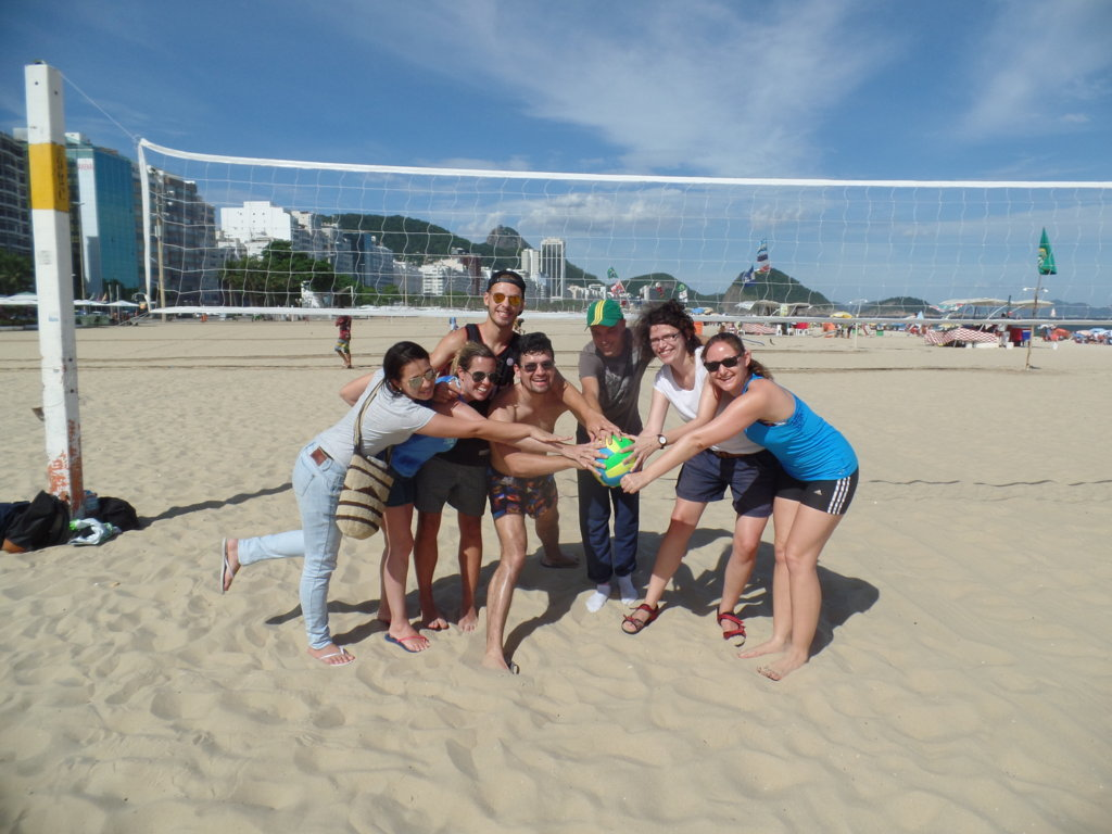 Beach, Volley and Sun.