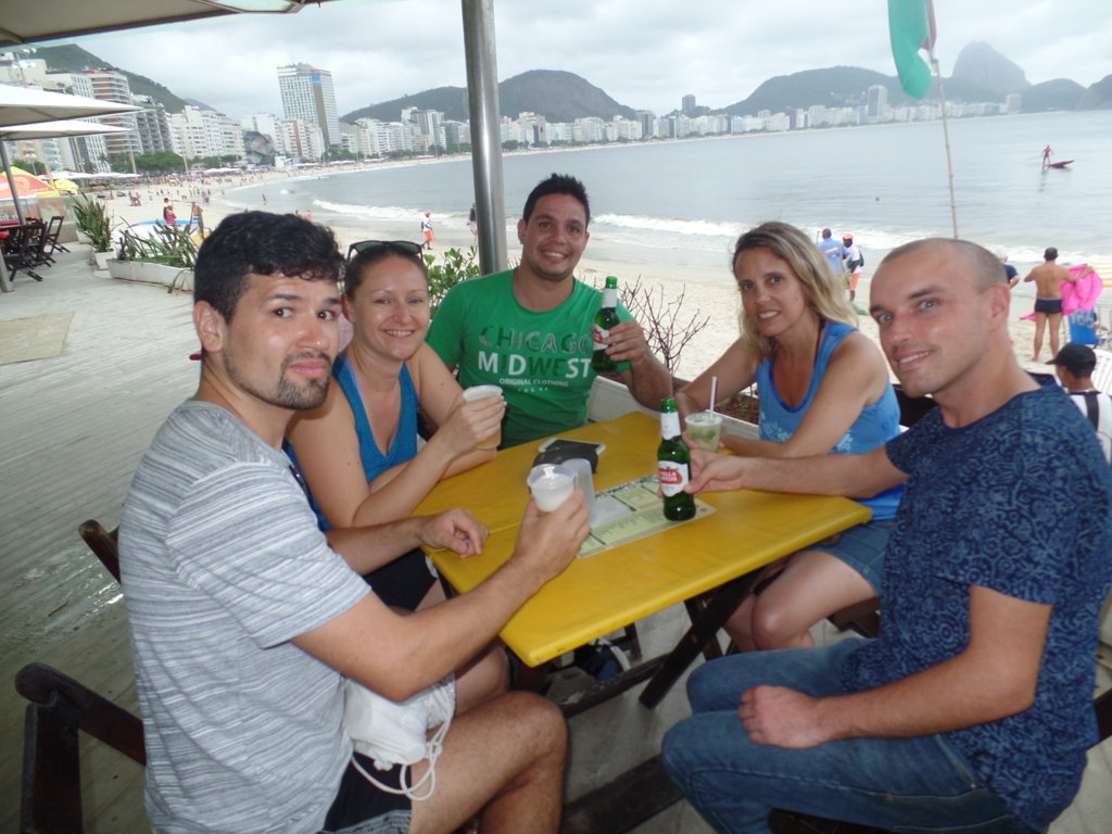 Afternoon in Copacabana.