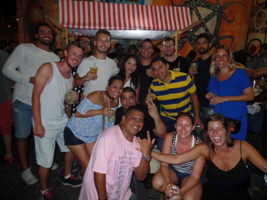 Samba night at Pedra do Sal.