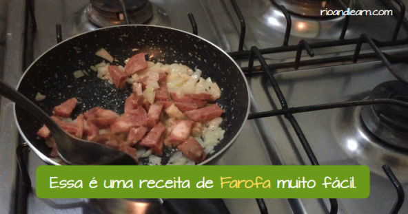 What is a farofa from Brazil. This is an easy Farofa recipe.