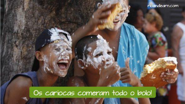 Aniversário do Rio de Janeiro. Os cariocas comeram todo o bolo!