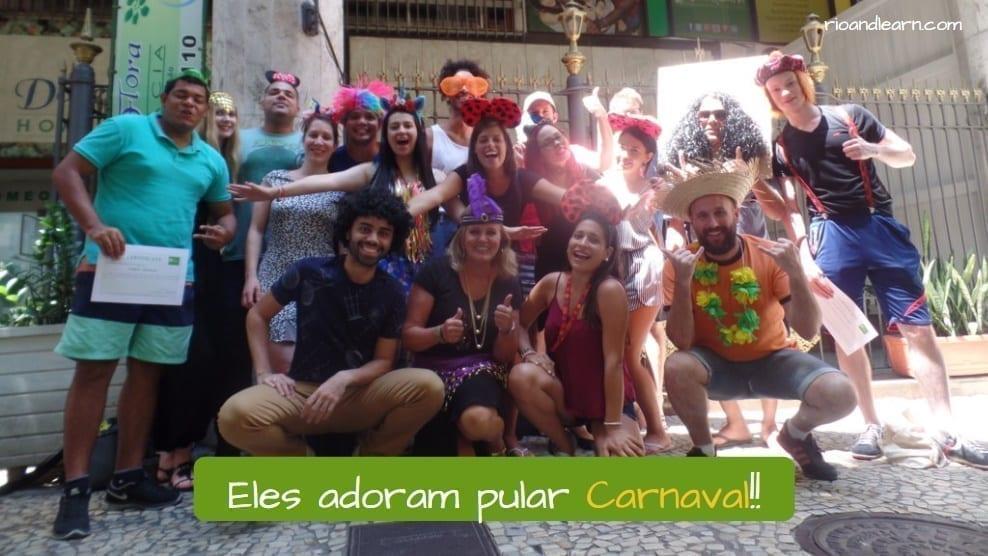 Rio de Janeiro Carnival - A Dica do Dia - Rio & Learn