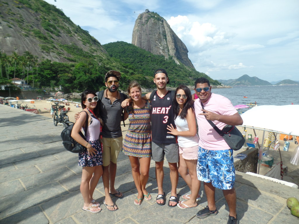 Yesterday we visited an interesting neighborhood in Rio, Urca.