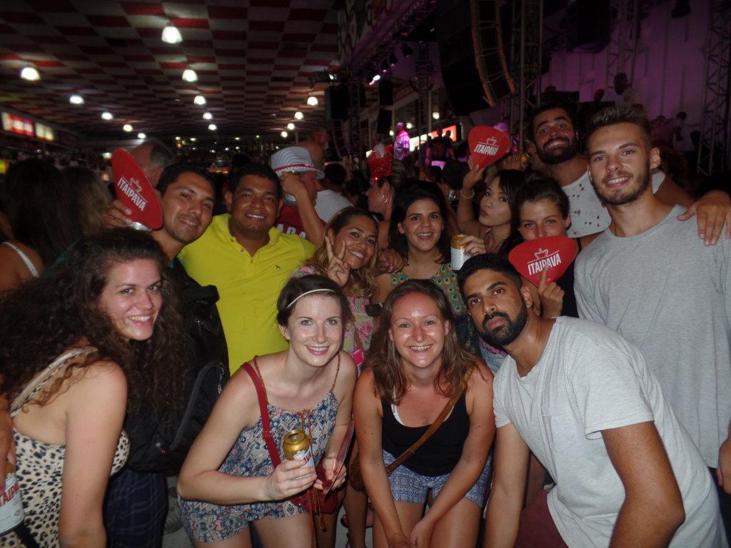 Samba School visit.
