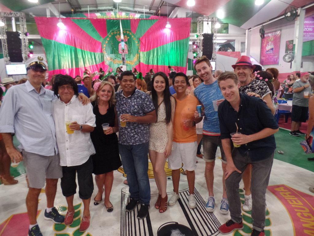 Fun and samba at Mangueira.