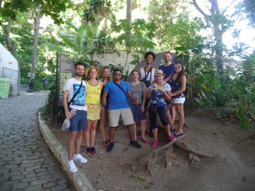 Trekking at Pão de Açúcar.