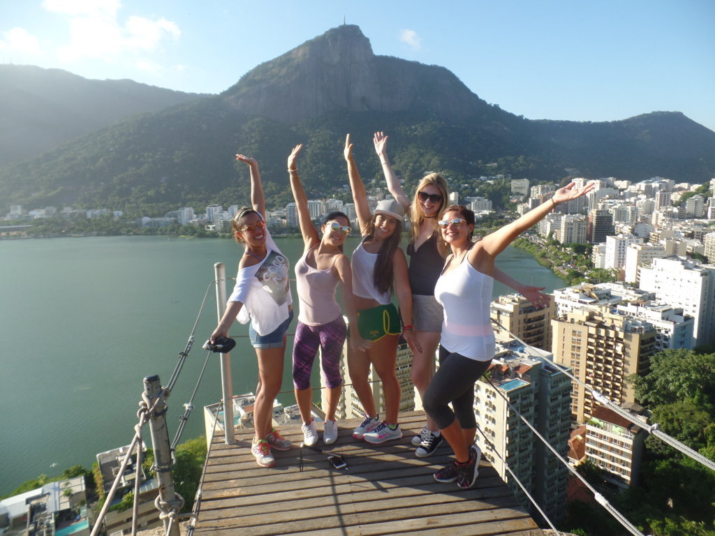 Our RioLIVE! started with an exciting hike at Parque da Catacumba