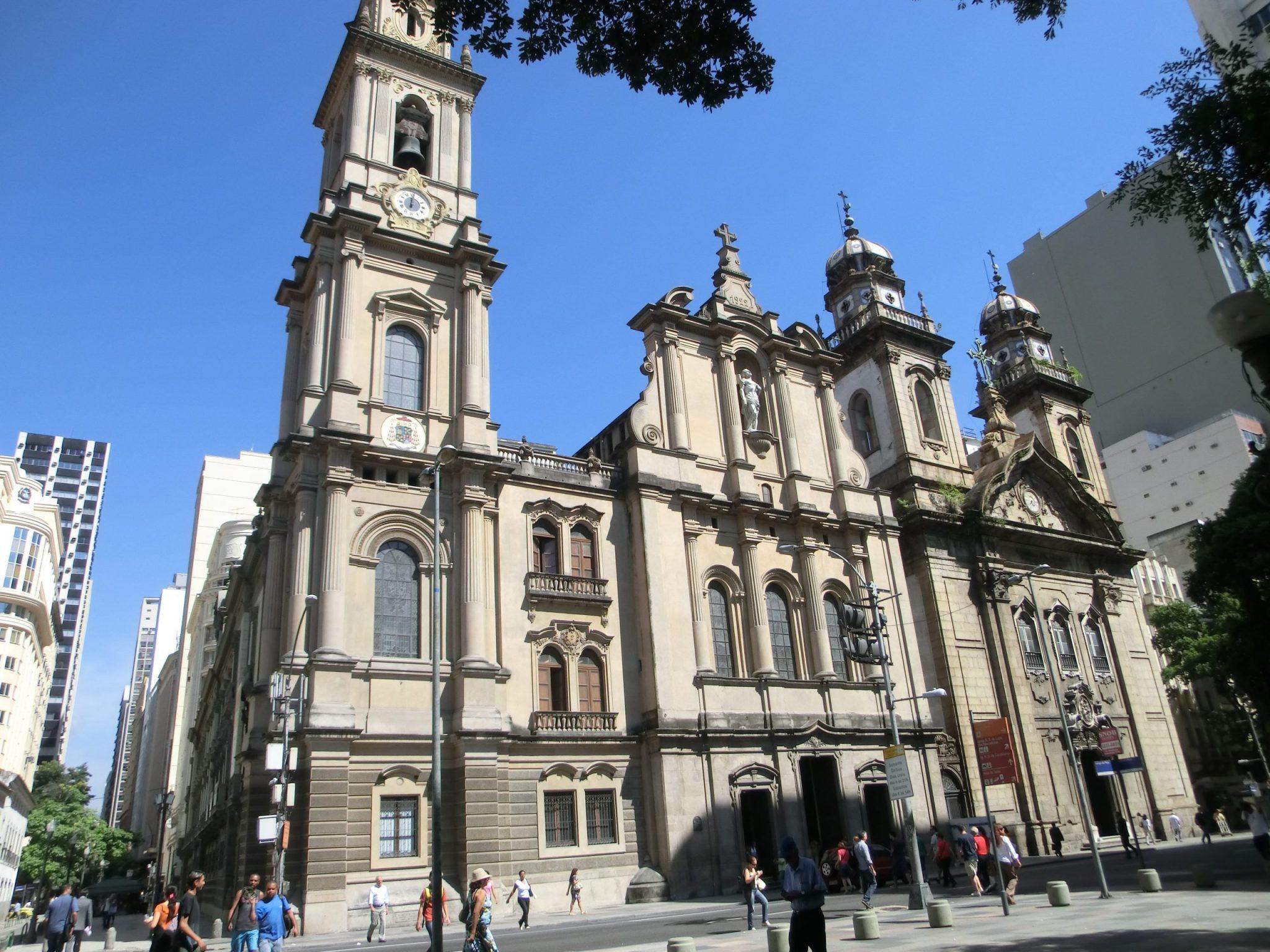 Rio de Janeiro City Center church. Fun things to do in rio de janeiro.