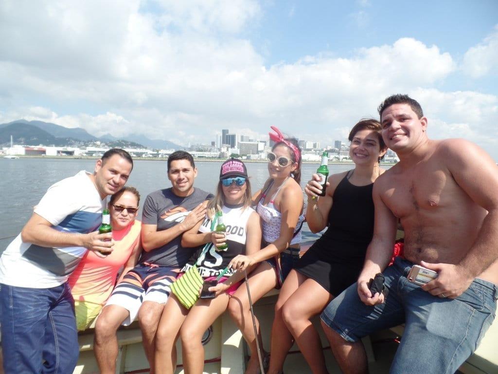 Visiting Guanabara's Bay.