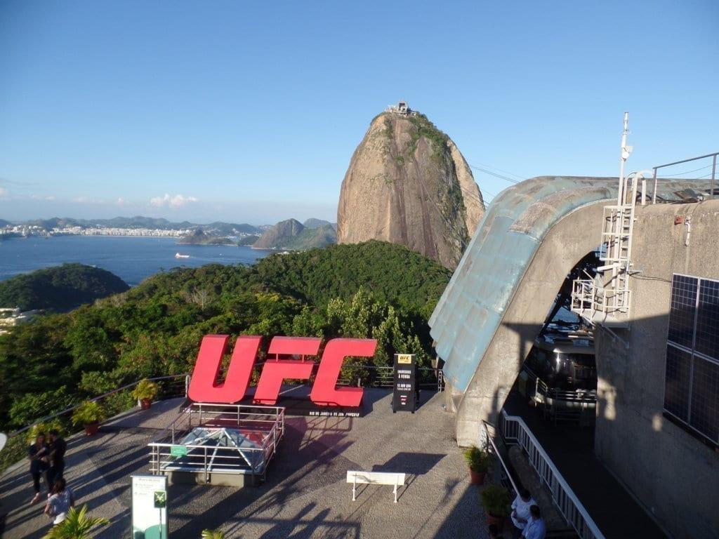 Beautiful view in Rio de Janeiro.