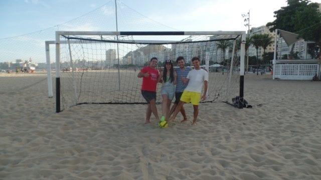 Sun, Beach and Football.