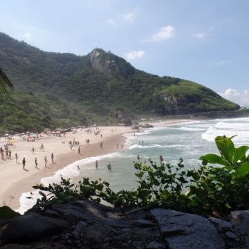 Beaches of Barra. Prainha beach.