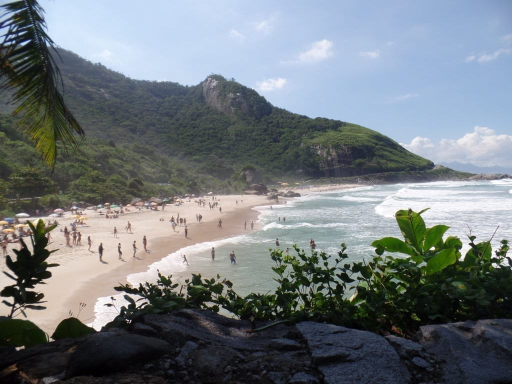 Praias da Barra. Prainha é uma praia linda e incrível. Rio de Janeiro, Brasil.