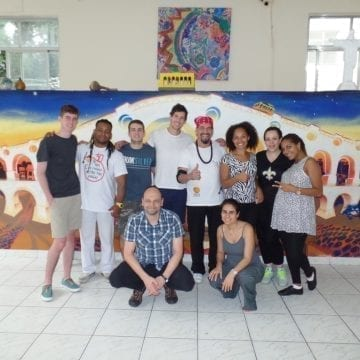 Capoeira in Rio.