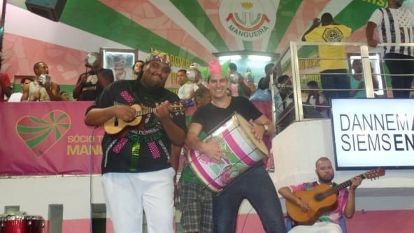 Português e Samba. Visita a Escola de samba Mangueira.