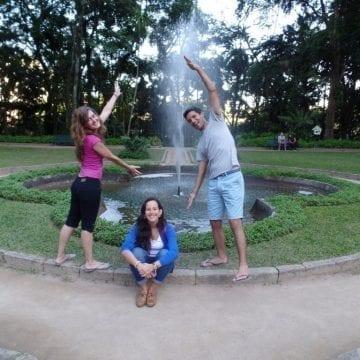 Parque Lage in Rio de Janeiro. RioLIVE! Parque Lage.