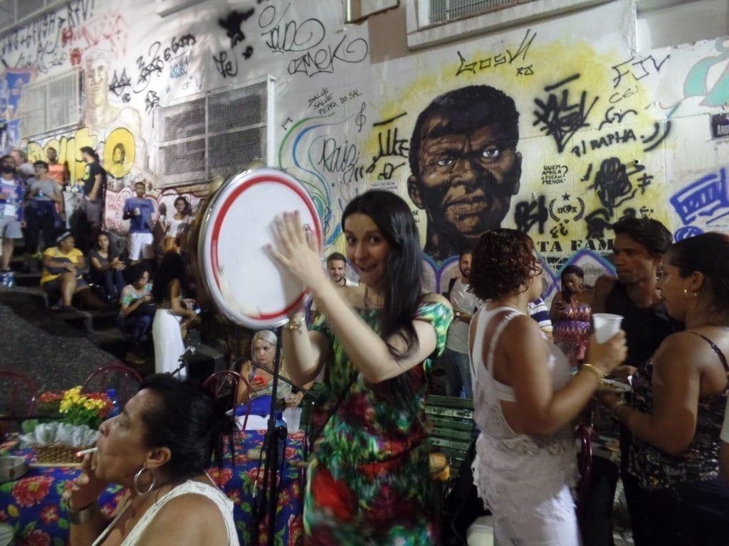 Fun and Samba at Pedra do sal.