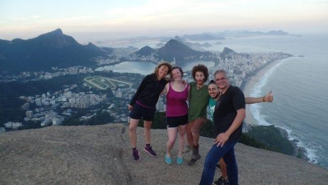 How beautiful Morro Dois Irmão is.