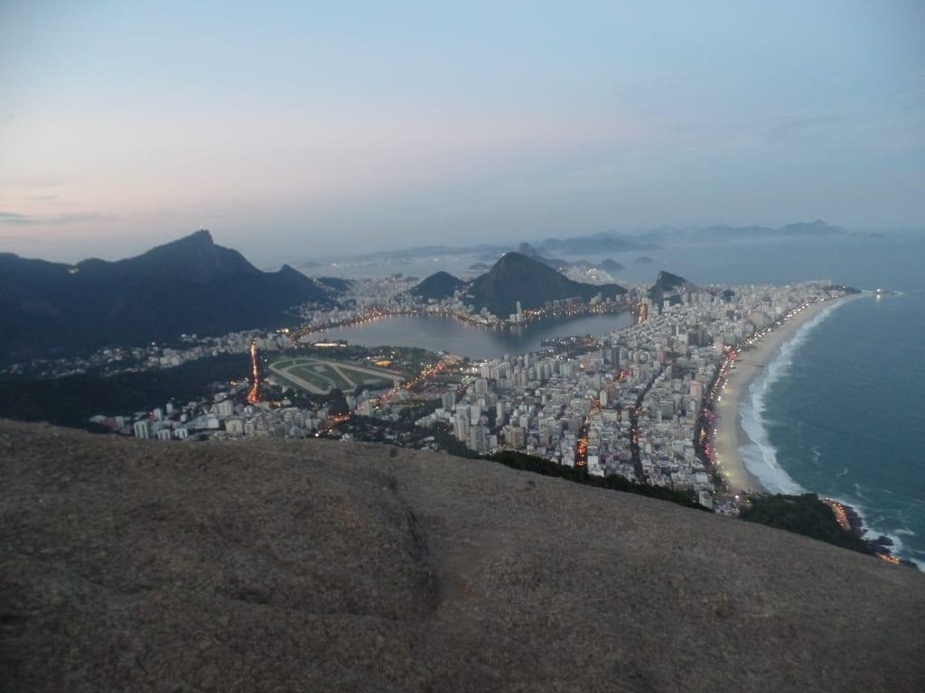 It's amazing. Beautiful view in Rio de Janeiro, Brazil.