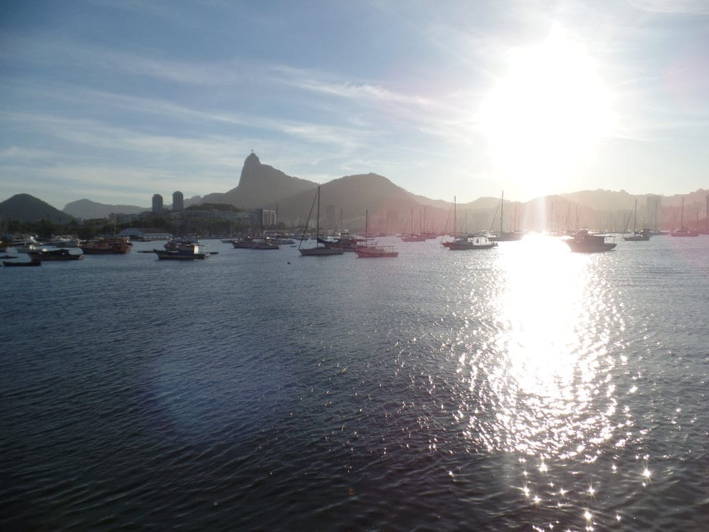 Beautiful landscapes at Urca.