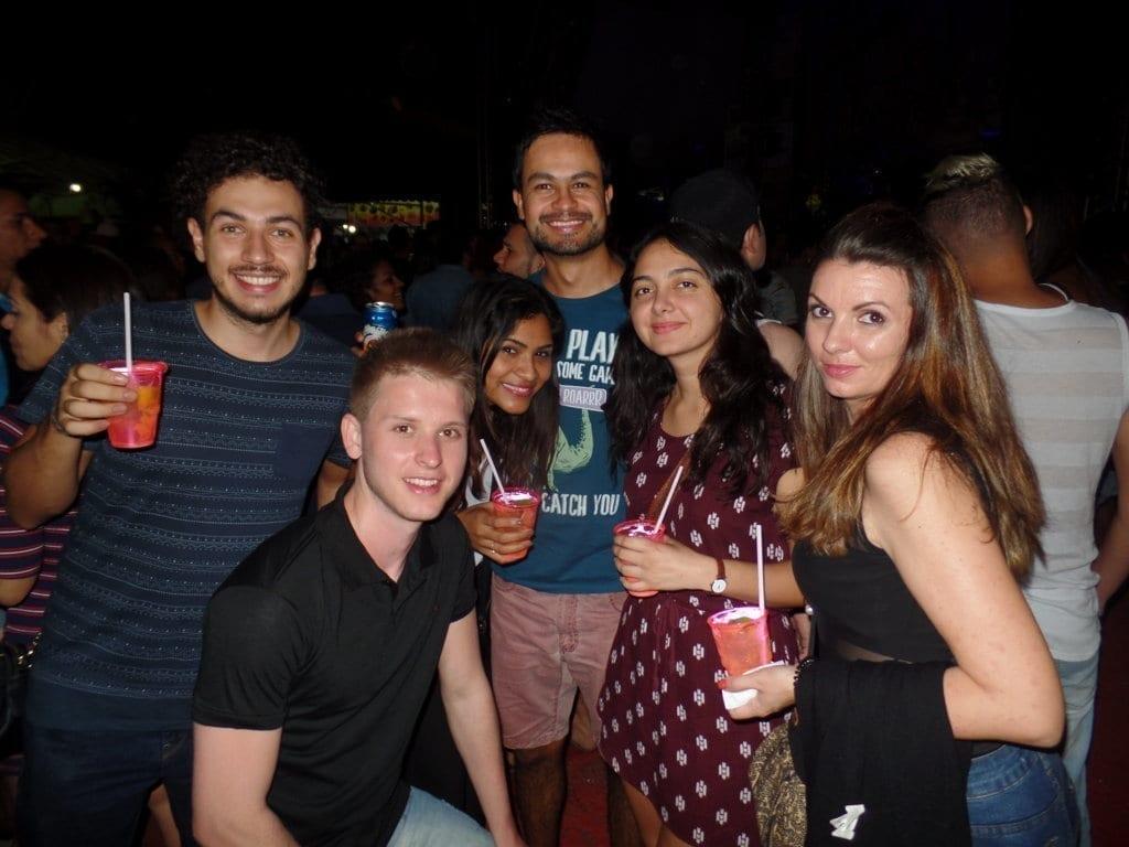 Preta Gil's Concert. Fun, Forró, Caipirinhas and Português.