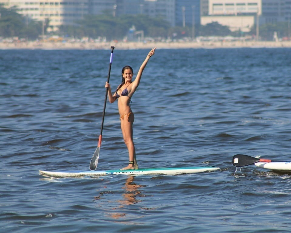 Stand Up Paddle Surf in Rio. Stand up Paddle in Rio de Janeiro