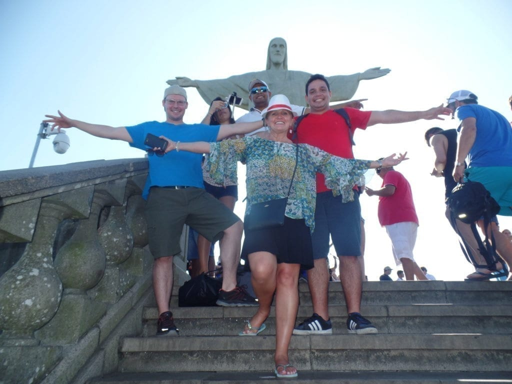 Students at Christ the Redeemer. Cristo is beautiful.