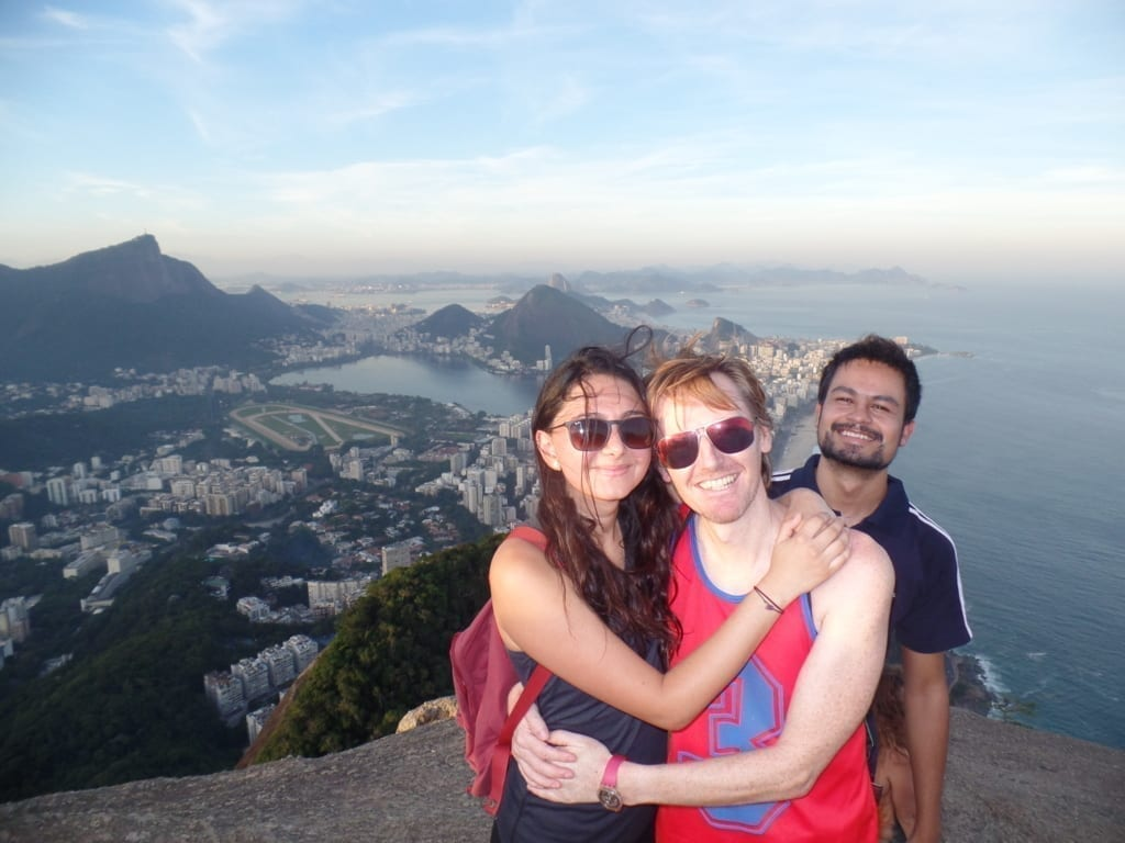 The best view in Rio.