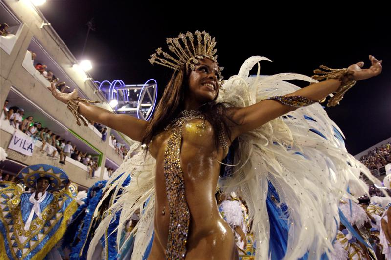 Samba in Rio. The Rio Carnival is Amazing.