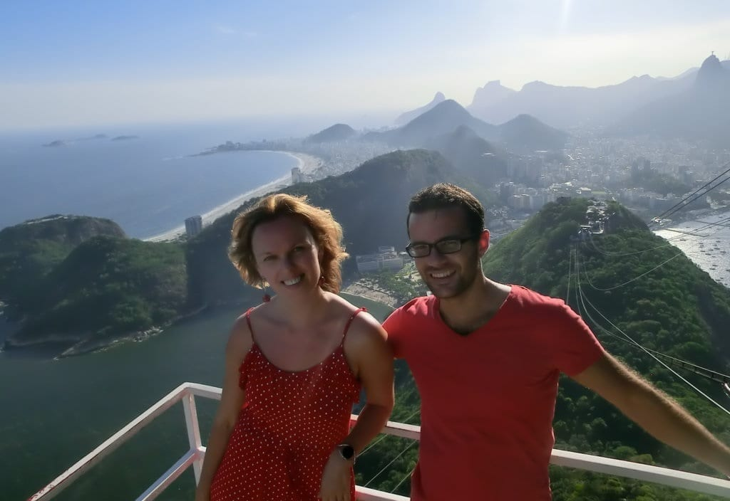 Sugarloaf Mountain. Afternoon at Pão de Açúcar.