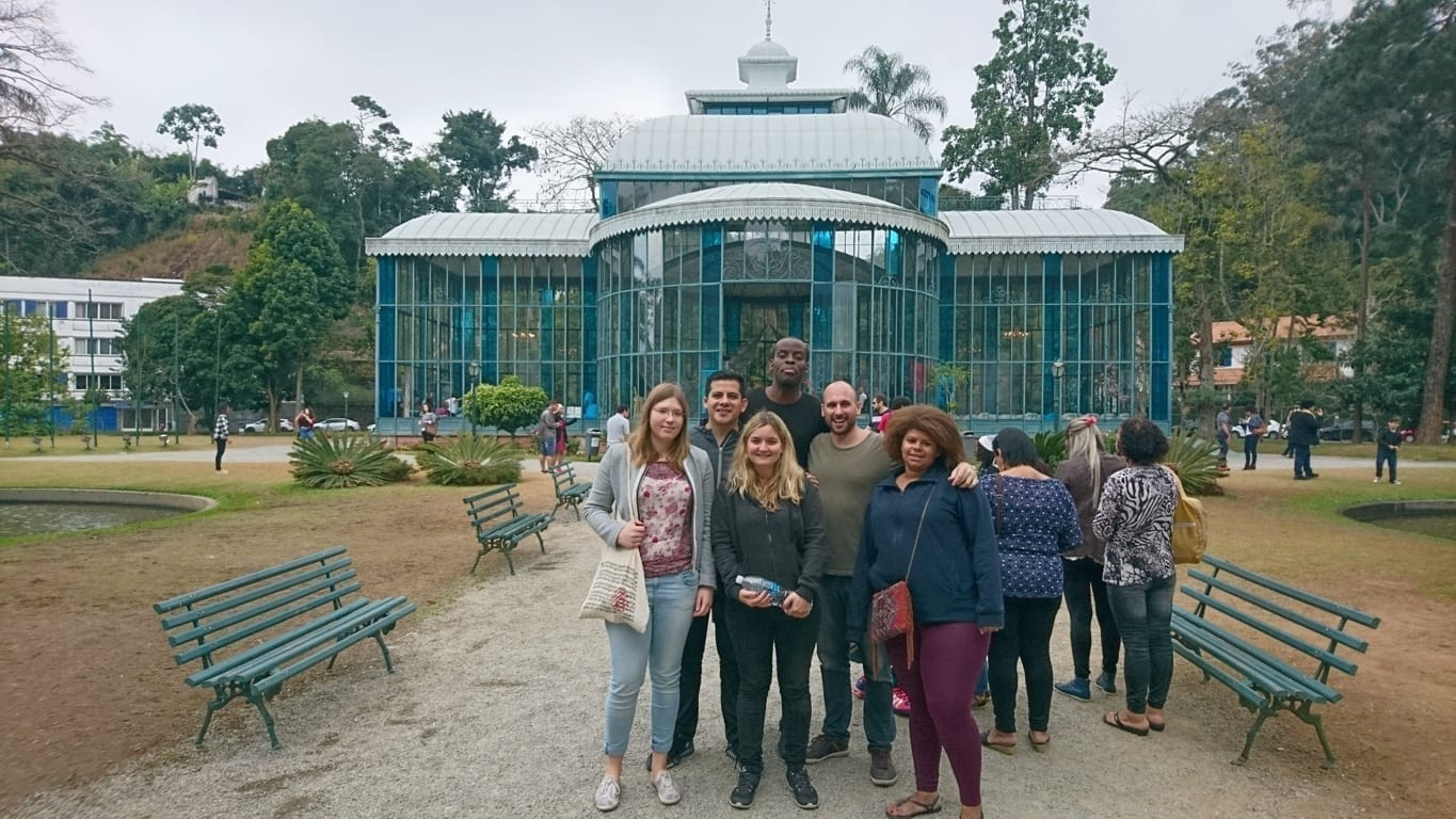 A walk in Petrópolis. We visited many places and we fell in love with Petrópolis.